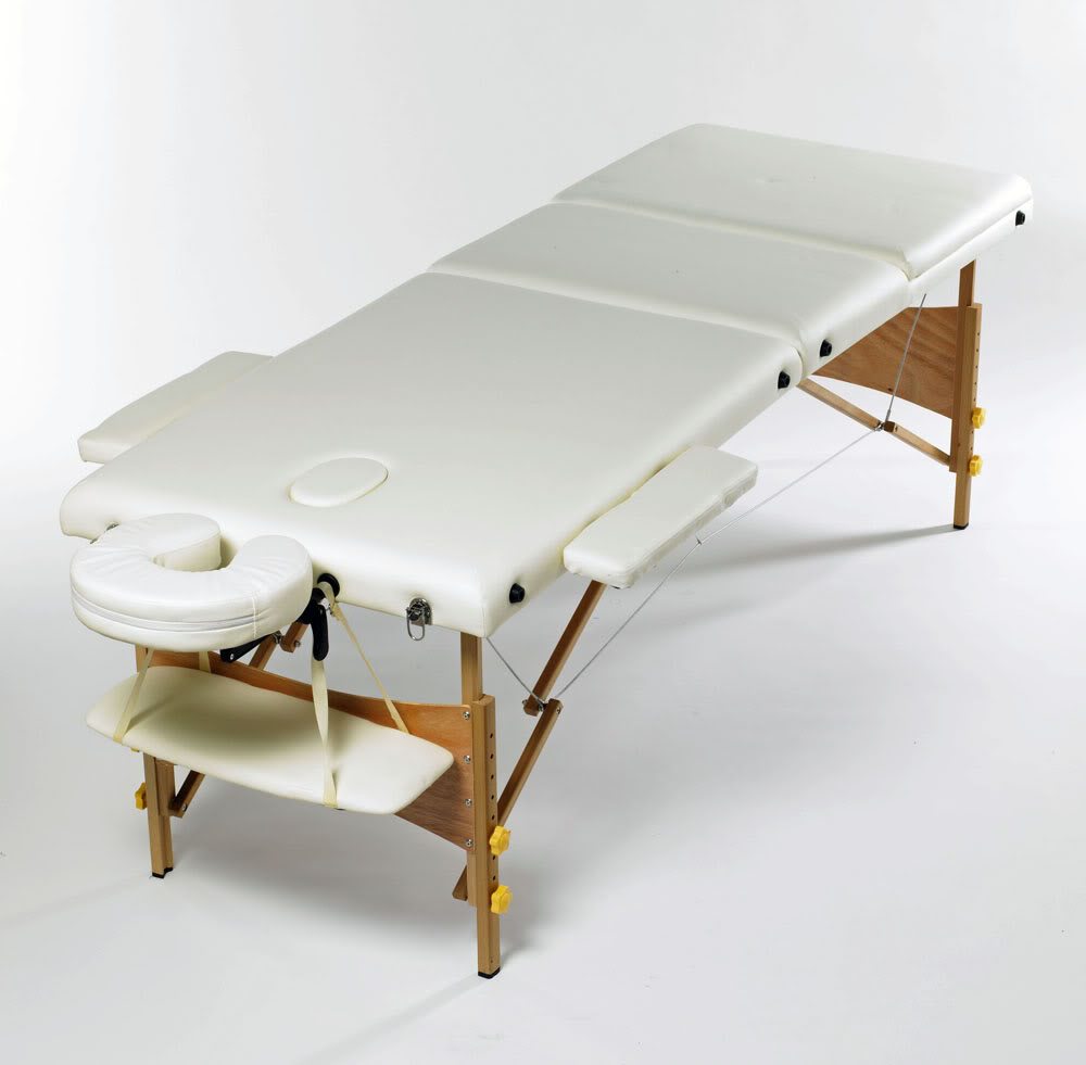 Massage Bed Therapy Foldable Table Beauty Adjustable