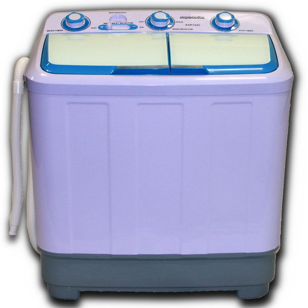 Washing Machine Twin Tub Compact 4 8kg Portable Washer