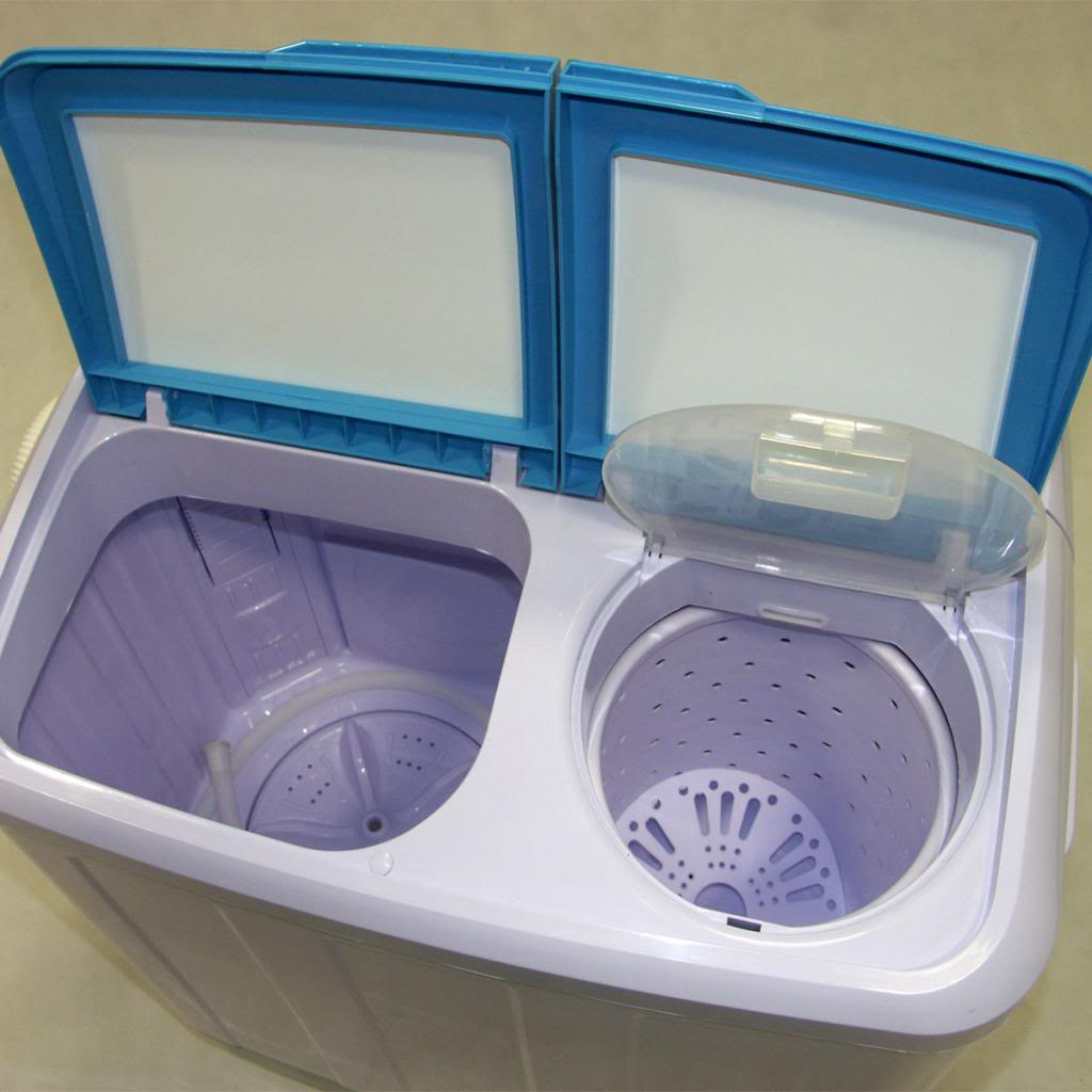 Washing Machine Twin Tub Compact 4 8kg Portable Washer