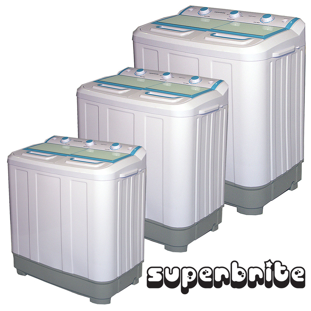 Twin Tub Mini Washing Machine Spin Dryer 7 2kg Portable