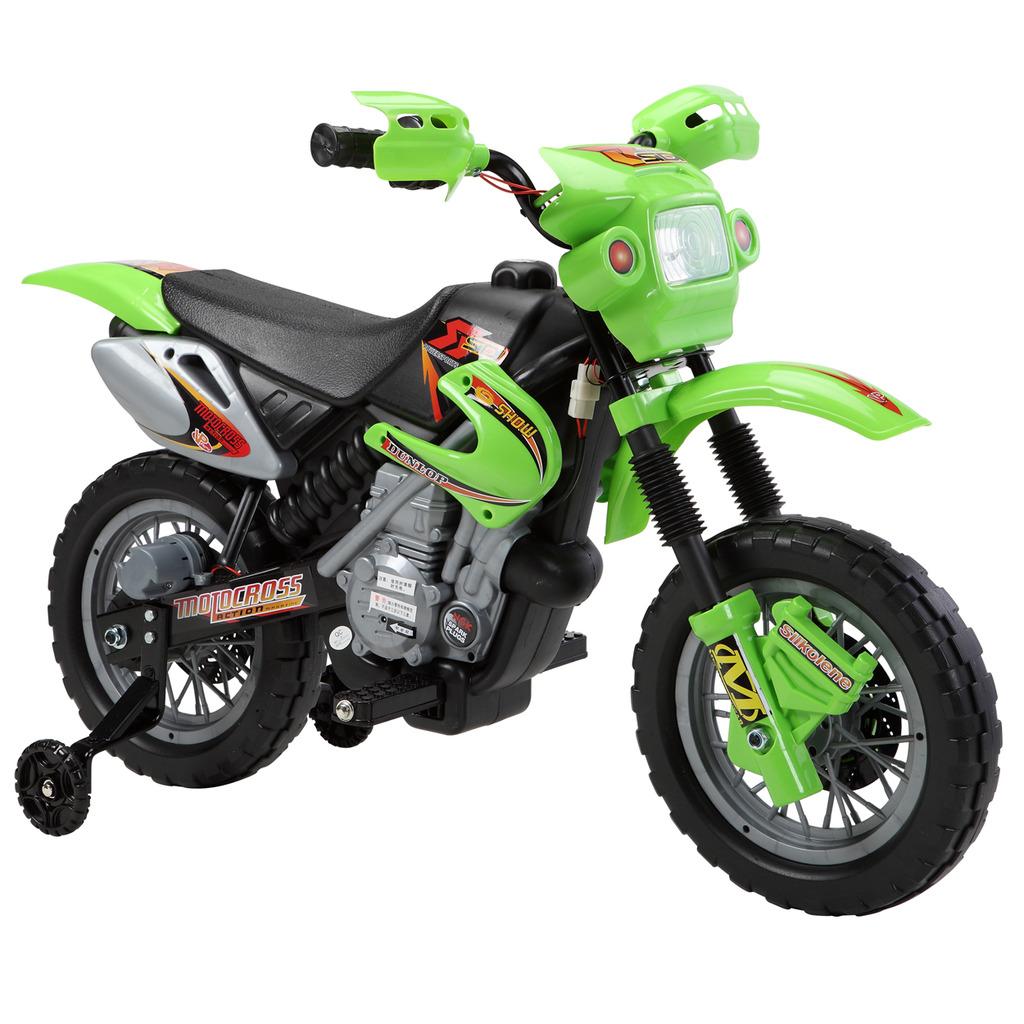 Kids Ride On Electric Bike Scrambler Childrens Battery