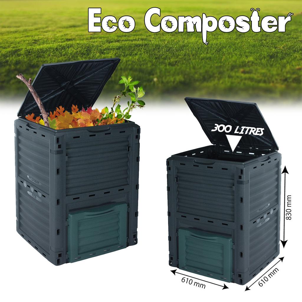 3-Tray  Compost Bin Worm Factory Composter Organic Kitchen Waste Allotment
