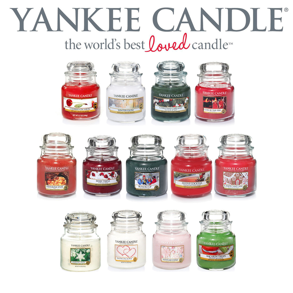 Yankee Candle Scented Jars Wax Classic 104g Fragrance ...