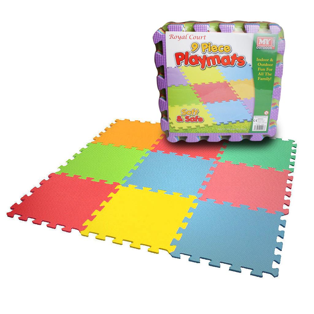 Kids Eva Foam Play Mat Interlocking Soft Playmat Set Tiles