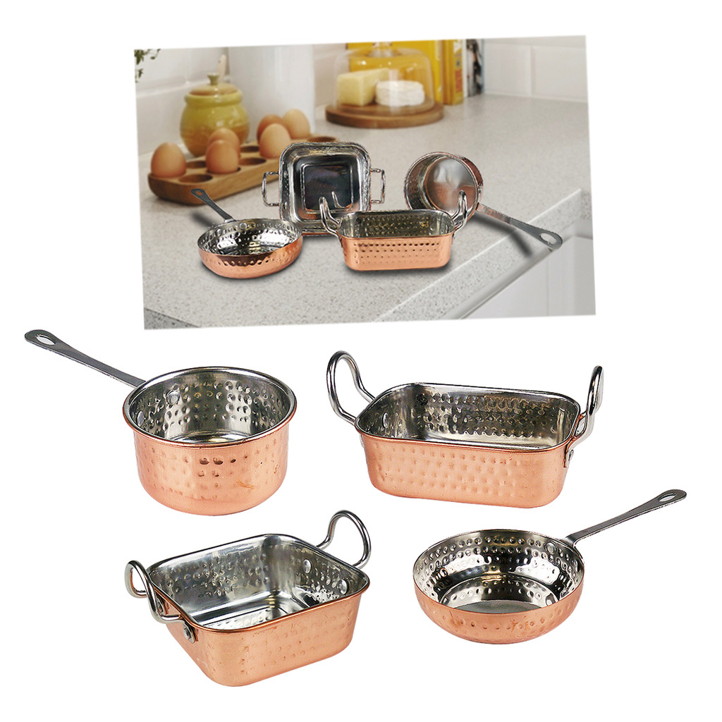 Copper Pans Mini Serving Dishes Stainless Steel Roasting