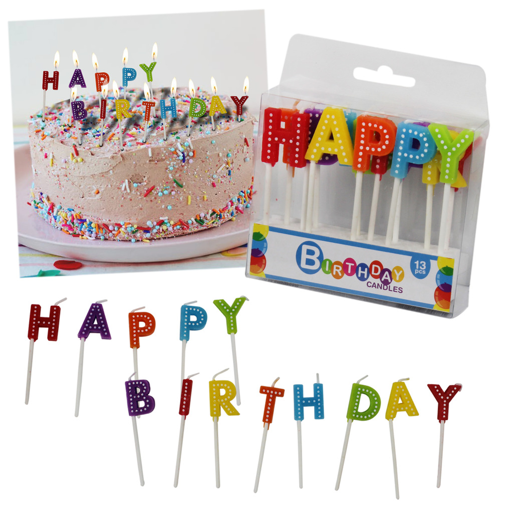 Terrific Happy Birthday Cake Candles Party Boys Girls Kids Adult Coloured Personalised Birthday Cards Cominlily Jamesorg
