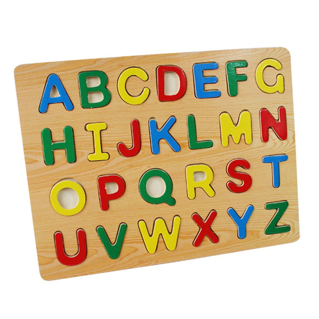 learning my letters alphabet puzzle children learning wooden abc letters 1746