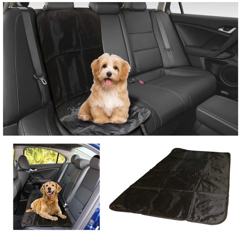 Voche 2in1 negro gris impermeable auto posterior asiento Trasero Cubierta Protector De Mascotas arranque Mat